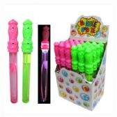 "48 Units of 15"" LIGHT UP BUBBLE STICK 24PC/DIS - Bubbles"
