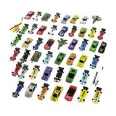 100 Units of Die Cast Toy Mega Assortment