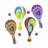120 Units of Psychedelic Paddleball Games - Dominoes & Chess