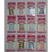 144 Units of Decorated Artificial Nails-12 Styles - Manicure and Pedicure Items