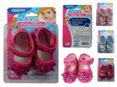 72 Units of Baby Shoe Bee Design - Baby Accessories