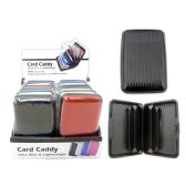 """80 Units of Card Caddy Dis B*4.3""""*2.8"""" - Leather Purses and Handbags"""