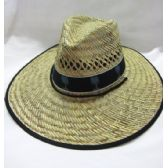 24 Units of Adult Straw Summer Hat - Sun Hats
