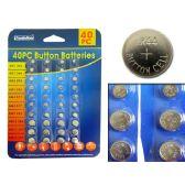 96 Units of Batteries Button 40pc/Set - Batteries