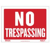 "480 Units of 9"" X 12"" No Trespassing Sign - Signs & Flags"