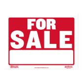 """480 Units of BAZIC 9"""" X 12"""" For Sale Sign - Signs & Flags"""