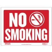 """480 Units of 9"""" X 12"""" No Smoking Sign - Signs & Flags"""