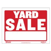 """480 Units of 9"""" X 12"""" Yard Sale Sign - Signs & Flags"""