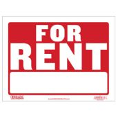 """480 Units of 9"""" X 12"""" For Rent Sign - Signs & Flags"""