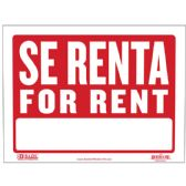 """480 Units of 9"""" X 12"""" Se Renta Sign - Signs & Flags"""