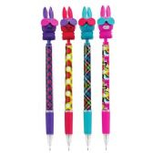 48 Units of Funny Bunnies .7mm Mechanical Pencil with Scented Eraser Topper