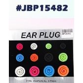 72 Units of Bodyjewelry Ear Plug - Body Jewelry