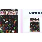 36 Units of Bodyjewelry/ Body Piercing Plastic - Body Jewelry