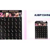 108 Units of Bodyjewelry/ Body piercing Belly Button Ring - Body Jewelry