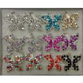 96 Units of Fashion Butterfly Ring - Rings