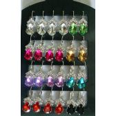 72 Units of Tear Drop Shape Fashion Earring - Earrings