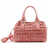 4 Units of Boston Studded Purse w/ Long Straps Pink - Leather Purses and Handbags