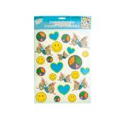 144 Units of Iron-On Peace Love Joy Transfers - Stickers