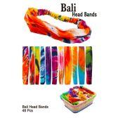 48 Units of Bali Head Band - Hair Scrunchies