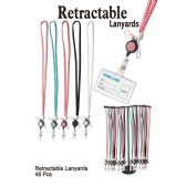 48 Units of RETRACTABLE LANYARDS