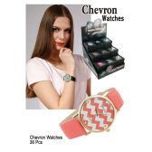 36 Units of CHEVRON WATCHES