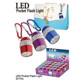24 Units of LED POCKET FLASH LIGHT - Flash Lights