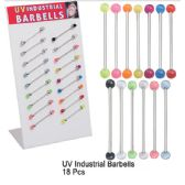 48 Units of UV INDUSTRIAL BERBELLS
