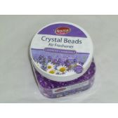 48 Units of 8oz Crystal Beads - Lavender - Air Freshener