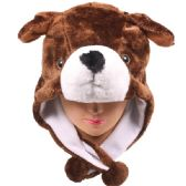 24 Units of ANIMAL HAT 105 - Costume Accessories