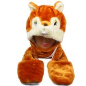 24 Units of ANIMAL CHIPMUNK HAT 060 - Costume Accessories
