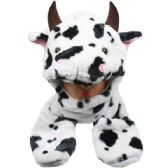 24 Units of ANIMAL COW HAT 026 - Costume Accessories