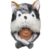 24 Units of ANIMAL HAT 124 - Costume Accessories
