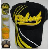24 Units of Summer Mesh Pittsburgh Ball Cap - Baseball Caps & Snap Backs