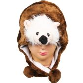 36 Units of ANIMAL RACCOON HAT 039 - Costume Accessories