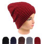 48 Units of WOMAN WINTER HAT 021 - Fashion Winter Hats