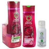 24 Units of Herbal Essence Shampoo W/free Dry Shampoo Rose