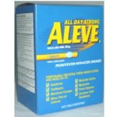 3 Units of Aleve Pill - Pain and Allergy Relief