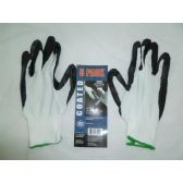 120 Units of Nitrile Dipped Gloves - Working Gloves