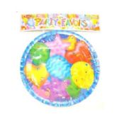 "144 Units of 8ct 9"" Birthday Plates - Party Tableware"