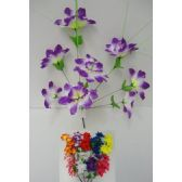 36 Units of 8 Head Flower
