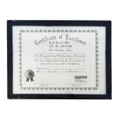 "144 Units of Certificate Frame 8.5""*11"""