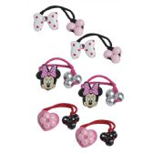 24 Units of Wholesale Minnie Hair Ties