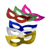 288 Units of Prismatic Masks Assorted 12ct - LED Party Supplies
