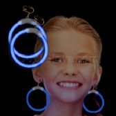 300 Units of Glow Earrings - Blue - LED Party Supplies