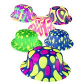 30 Units of Assorted Styles Derby Hats - 12ct - Costumes & Accessories