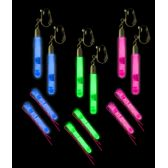 48 Units of Glow Hair Pins and Earrings Set - Assorted - LED Party Supplies
