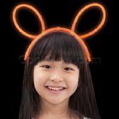 96 Units of Glow Headband - Orange - LED Party Supplies