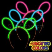16 Units of Glow Headband - Assorted - LED Party Supplies