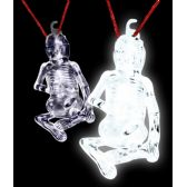 36 Units of Glow Stick Halloween Skeleton - White - LED Party Items