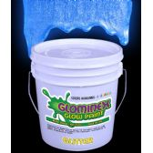 Glominex Glitter Glow Paint Gallon - Blue - LED Party Supplies